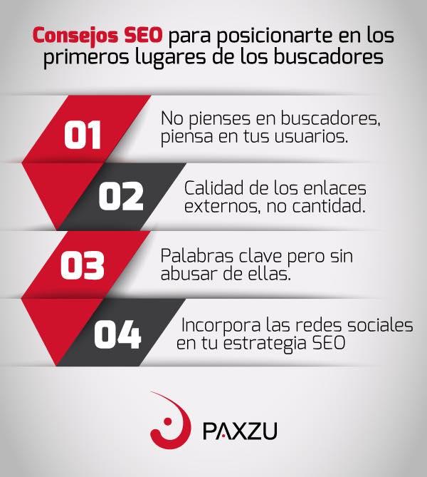Logra el posicionamiento en buscadores que quieres para tu página con Paxzu